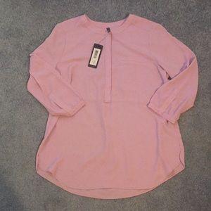 NYDJ Crushed Lilac dress shirt